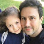 انگلیسی حرف زدن شاهرخ استخری با دخترش پناه