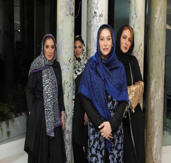 بازیگران در شام ایرانی