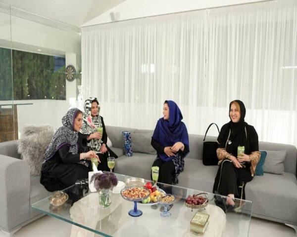 خانه لاکچری فریبا نادری در شام ایرانی