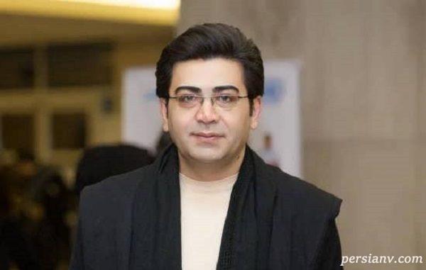چهره جدید فرزاد حسنی مجری در جشن تولد ۴۳ سالگی اش