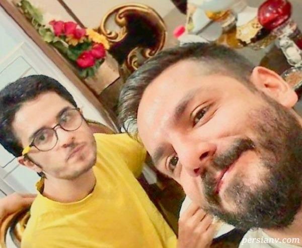 تبریک خاص عباس غزالی به مناسبت تولد یونس غزالی برادر بازیگرش