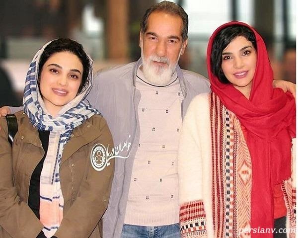 سعید سهیلی و دخترانش