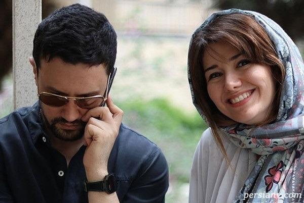 تبریک تولد شاهرخ استخری برای خواهرش نیلوفر