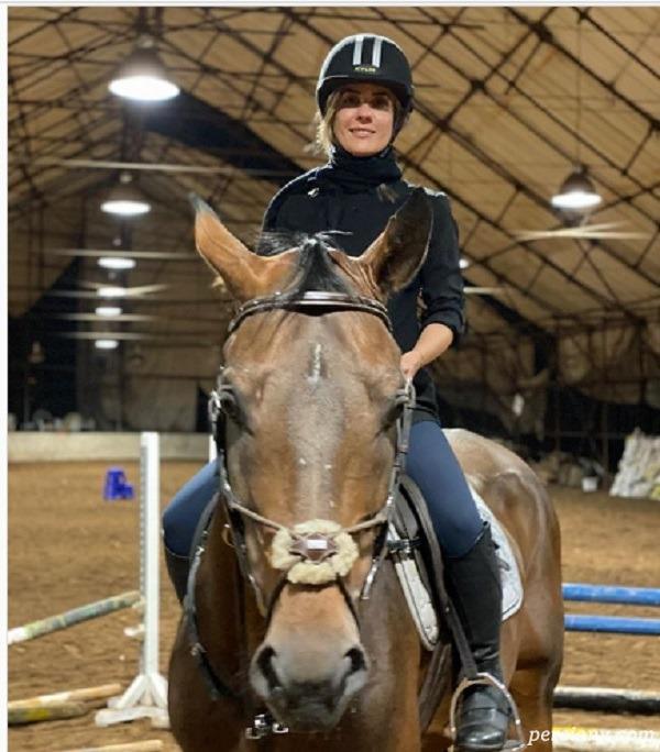 اسب سواری سارا بهرامی