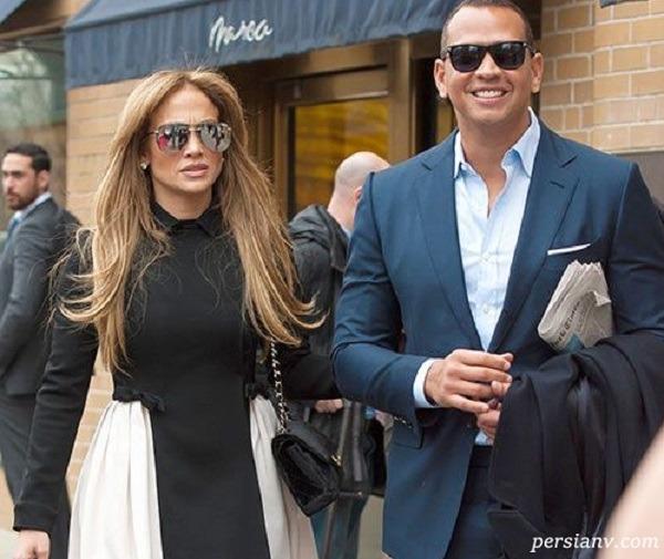 جنیفر و همسرش