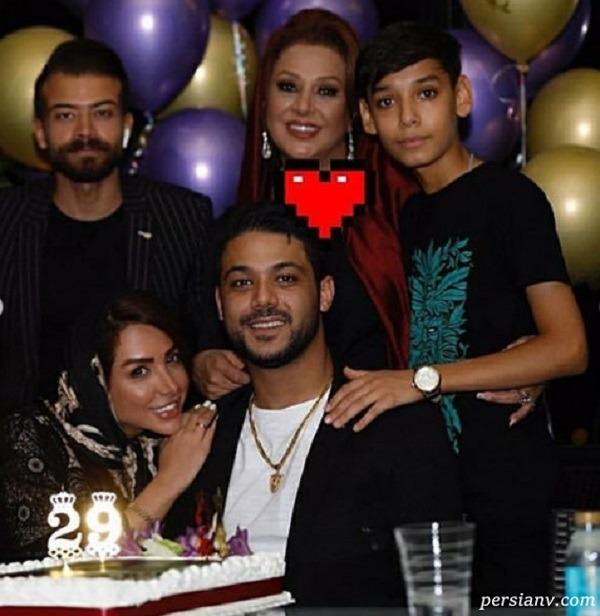 جشن تولد پسر خانم بازیگر