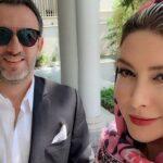 عکس جدید فریبا نادری و دخترش در جشن تولد همسرش