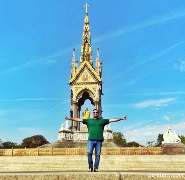 امید حاجیلی در لندن