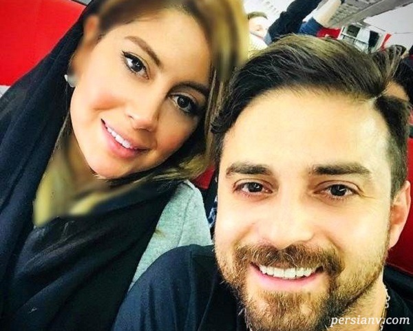 پریا پرتوی فرد همسر دوم بابک جهانبخش عکس دخترش را منتشر کرد