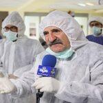 لایو مهران رجبی در بیمارستان محل بستری اش برای کرونا