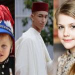 فرزندان خانواده های سلطنتی و حاکمان آینده کشورشان