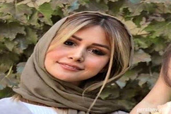 سپیده بزمی پور همسر شاهرخ استخری قبل و بعد از آرایش
