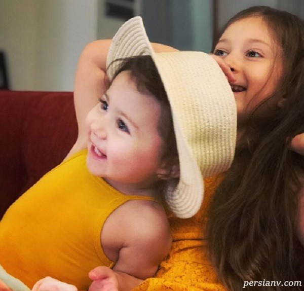 دو دختر شاهرخ استخری