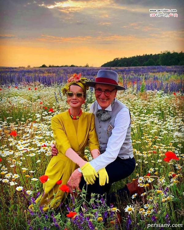 عکس های عاشقانه زوج آلمانی