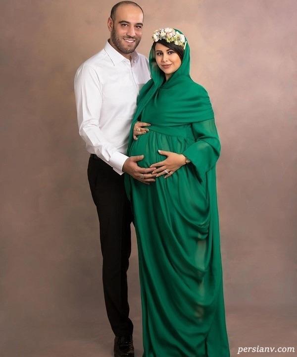 دوران بارداری بازیگر زن