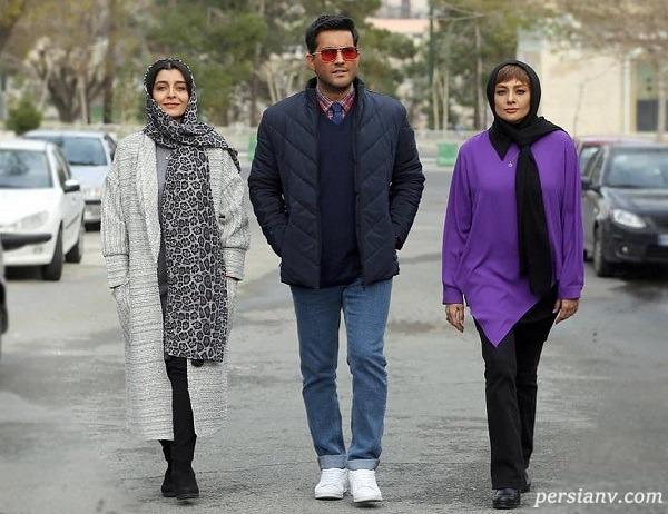 یکتا ناصر و ساره بیات و حامد بهداد