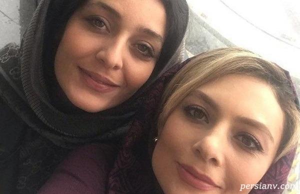 دوستی یکتا ناصر و ساره بیات ( آوا و رستا ) خارج از سریال دل