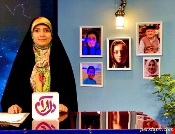 جشن تولد زینب پورابراهیم مجری تلویزیون در محل سازمان