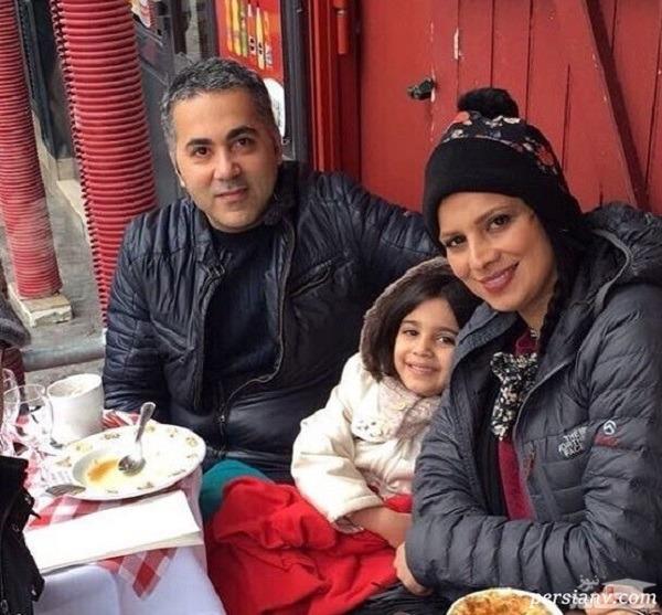 همسر و فرزند روشنک عجمیان