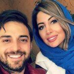 عکس جالب آرتا پسر بابک جهانبخش و نیلا دختر همسرش