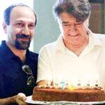 شب نشینی فوتبالی اصغر فرهادی کنار محمدرضا و همایون شجریان