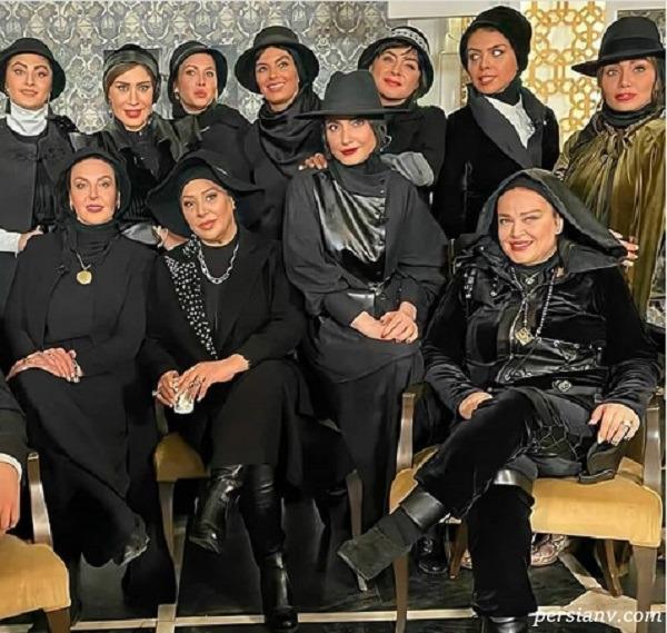 دورهمی بازیگران زن ایرانی