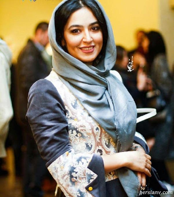 فریبا طالبی بازیگر سریال دخترم نرگس