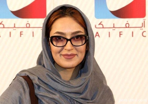 فریبا طالبی بازیگر سریال دخترم نرگس در هتل عباسی اصفهان