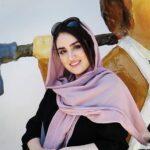 بازیگر جوان سینما هانیه غلامی در رستوران شیک