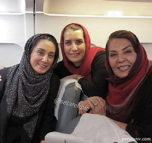 هدیه تهرانی بدون آرایش