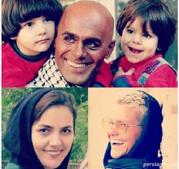 جمشید هاشم پور و دخترانش