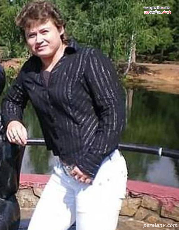 زن بدنساز روس
