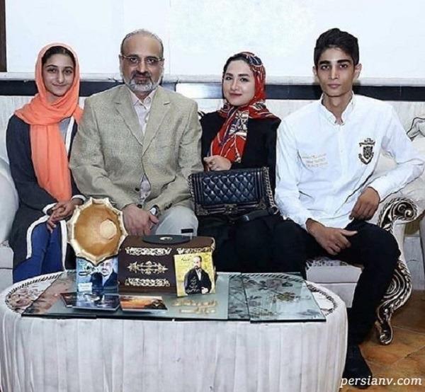 محمد اصفهانی و همسرش