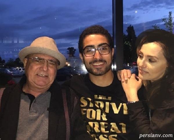 محمدرضا شجریان و همسر دومش