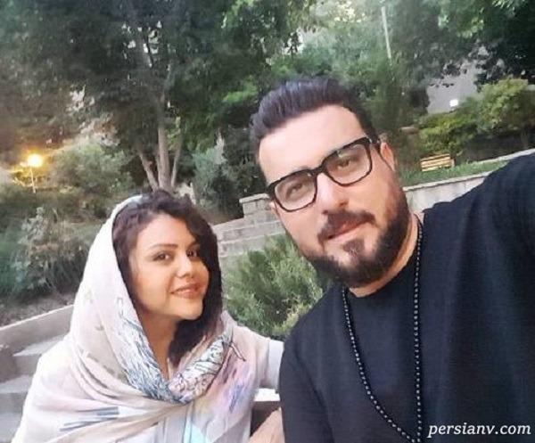 محسن کیایی بازیگر هم گناه و دخترش رز