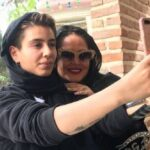 عکس جدید پریا قاسم خانی تنها دختر بهاره رهنما