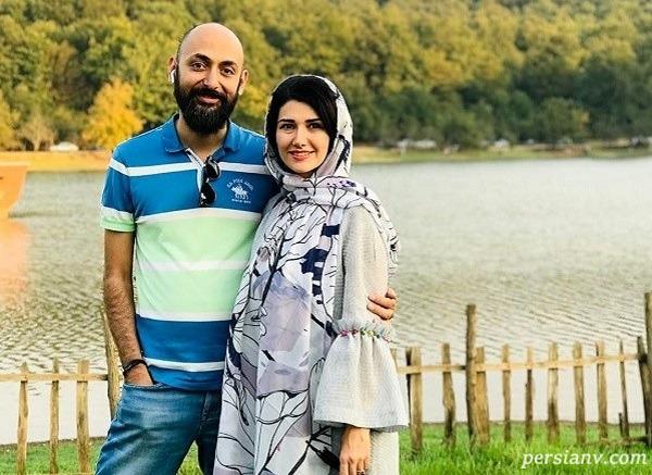خواهر شاهرخ استخری و همسرش