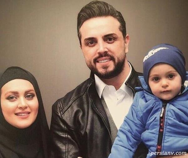 مجری سرشناس و خانواده اش