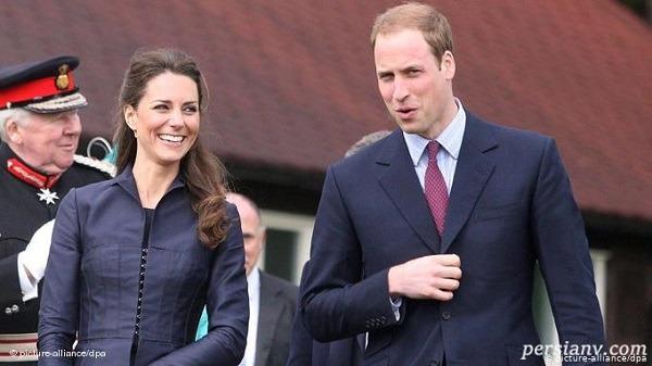 جذابیت عروس سلطنتی کیت میدلتون در یک لباس رسمی