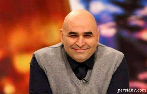 علی مسعودی بازیگر در جشن تولد خواهر زاده اش