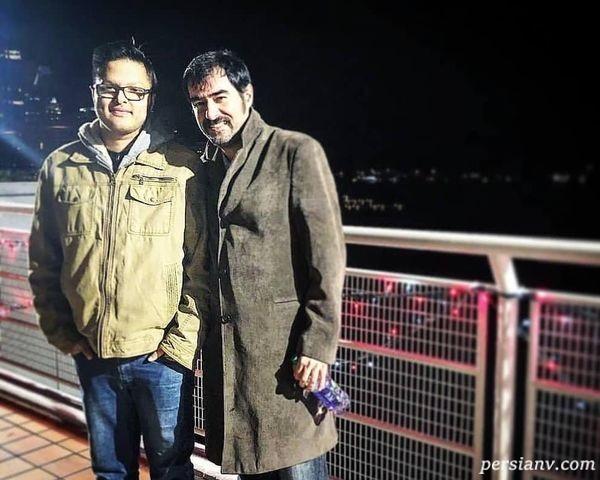 بازیگر معروف و پسرش