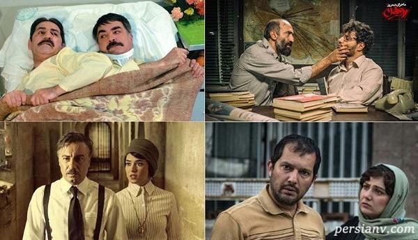 ۶ زوج هنری سینمای ایران از احمد مهران فر تا باران کوثری