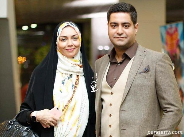 مجری ممنوع التصویر و همسرش