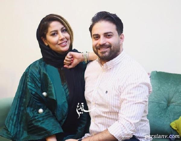 خواننده جوان و همسرش