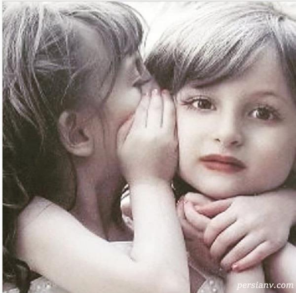 کودکی سارا و نیکا فرقانی