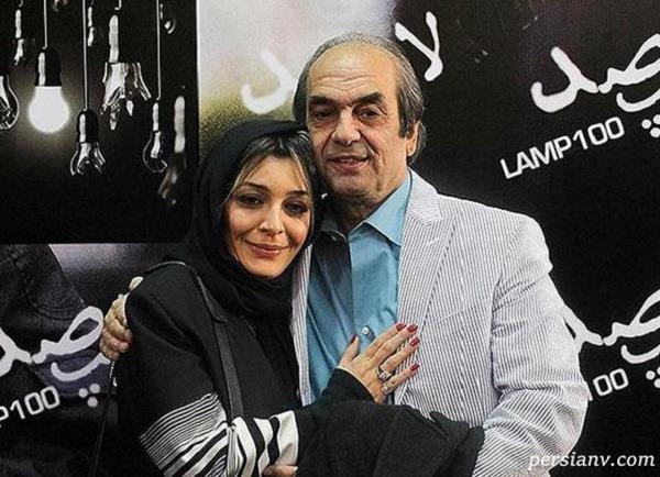 تبریک تولد ساره بیات و خواهرش سروین برای پدرشان