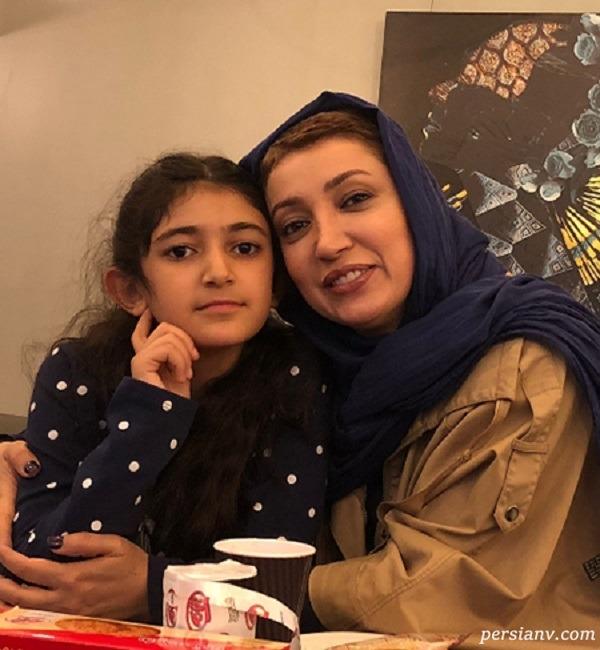 نگار عابدی همسر اول هدایت هاشمی و دخترش