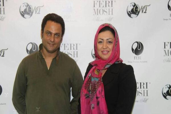 حسین یاری و همسرش