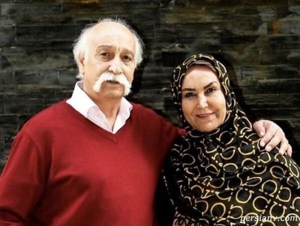 محمود پاک نیت با نوه اش هانا به همراه پسر و عروسش