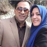 تصویر المیرا شریفی مقدم مجری شبکه خبر با ست مانتو و ماسک